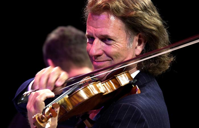 Andre Rieu, confessions of the dutch violinist